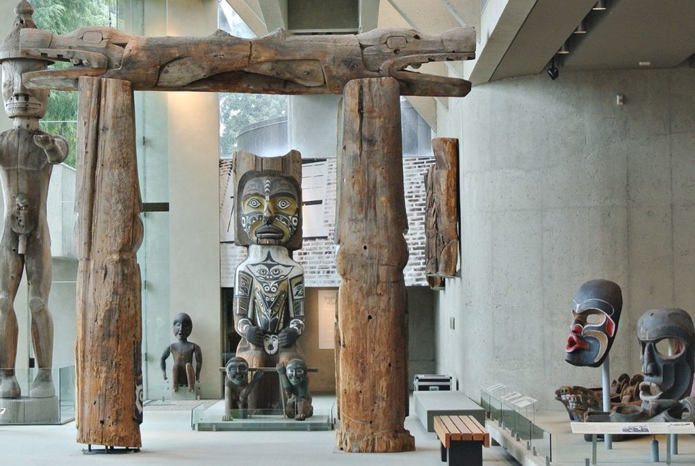 The Great Hall in the Museum of Anthropology. Photo by Joshua McVeity for Montecristo Magazine
