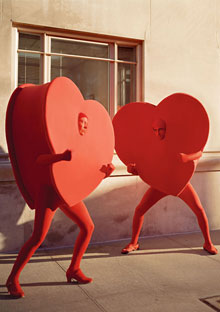 Two hearts enter...and two hearts CAN leave!