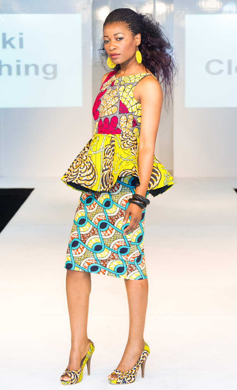 Kiki Clothing L Africa Fashion Week London