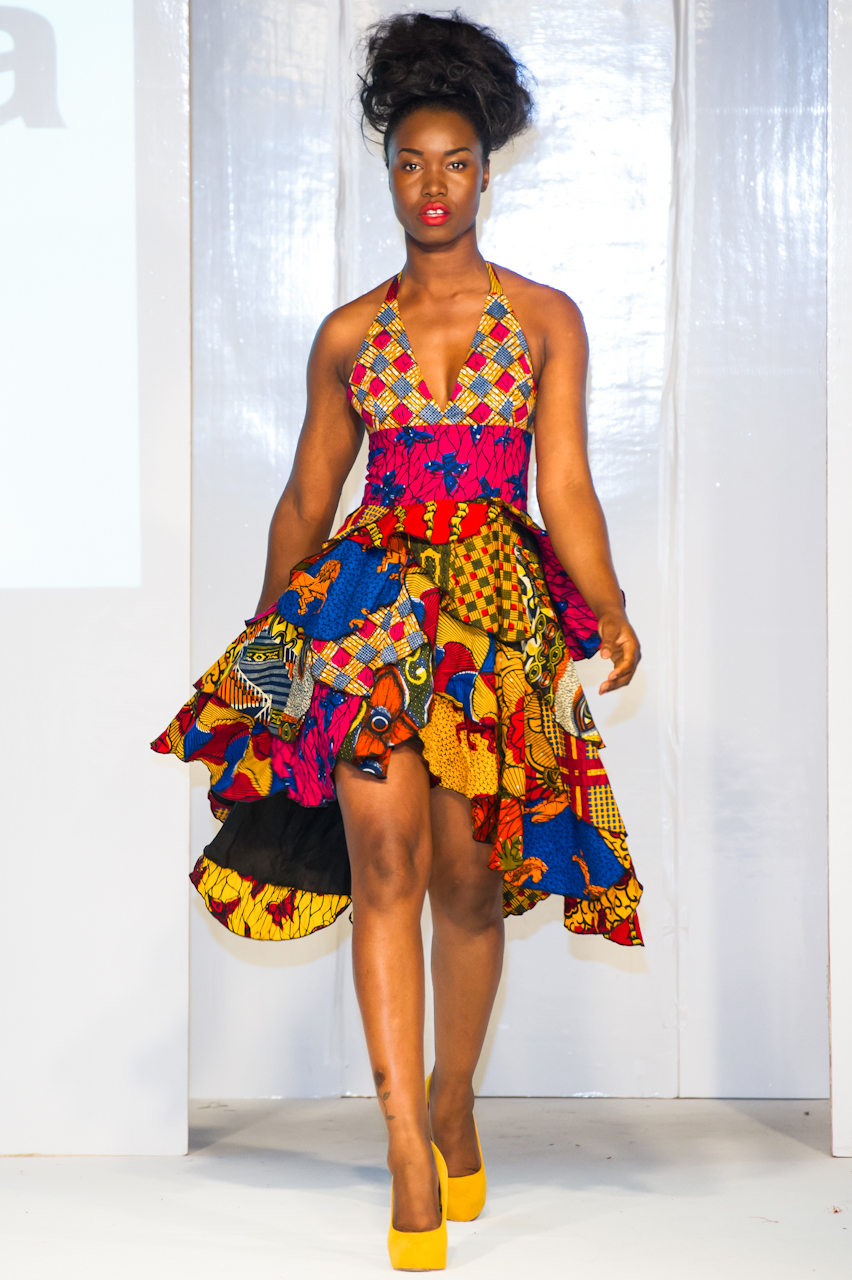 Asandia Hogan L Africa Fashion Week London