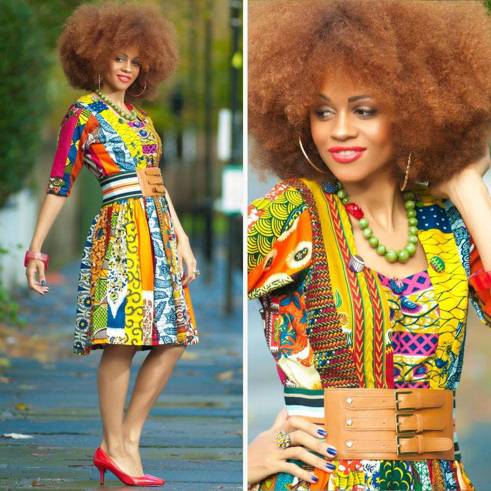 African-Patchwork Style/By Zanjoo