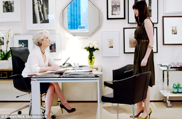 The devil is real: Several fashion assistants spoke to Vice France and revealed that the job can be just as awful as it seems in The Devil Wears Prada (pictured)