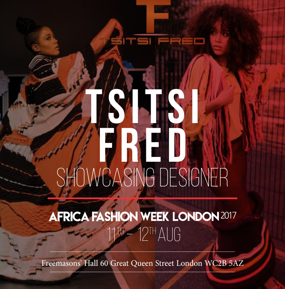 TSITSI FRED - Tsitsi Fred Knitwear is an emerging knitwear brand founded in 2016 by a Zimbabwean born London based textile designer Tsitsi Fred, who is well known for her signature artisanal knits. As a young girl she grew up with her auntie who owned a knitwear studio, this is where she got her inspiration from as she used to knit alongside the workers, learning simple knit techniques.