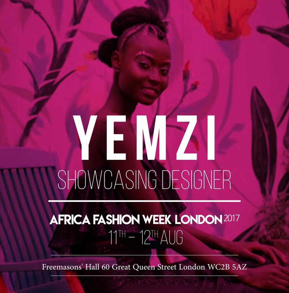 YEMZI - British-Nigerian fashion designer Elizabeth-Yemi Akingbade founded Yemzi in 2013 with a limited edition range of environmentally friendly printed t-shirts.The fashion brand's first ready-to-wear collection (SS16) was released in 2015 Tired of seeing African designers limited by the same Dutch wax designs, Elizabeth-Yemi creates the artwork for her collections, which are inspired by West African culture.