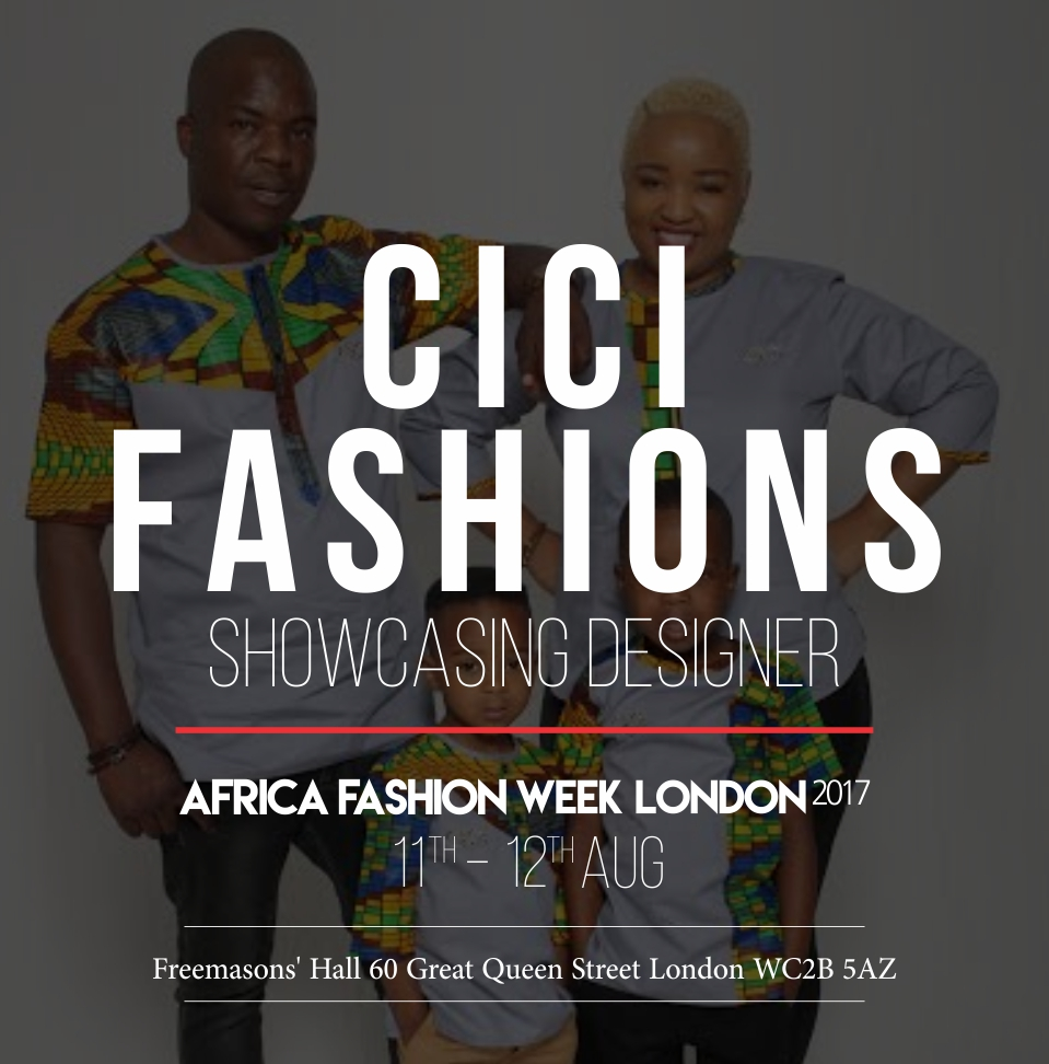 CICI FASHIONS - Cici Fashions was started in November 2014 by Clara Maybe Tima who felt African print clothing was not appreciated and taken into consideration as office or casual wear . Her idea of mixing prints with other fabrics broke up the rigidity of defined corporate wear in the office.  Based in Harare, Zimbabwe, Tima will bring a freshness to the AFWL catwalk.