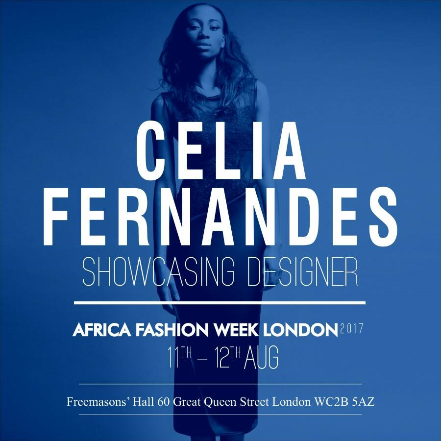 CELIA FERNANDES - Celia Fernandes is a eponymous  fashion label based in London.  The brand  tends to focus on combining African tribal elements such as the wrapping of the cloth contrasting it with Baroque/renaissance clothing, creating unique ready to wear, lingerie, accessories  and swimwear designs for women.- African country : Angola