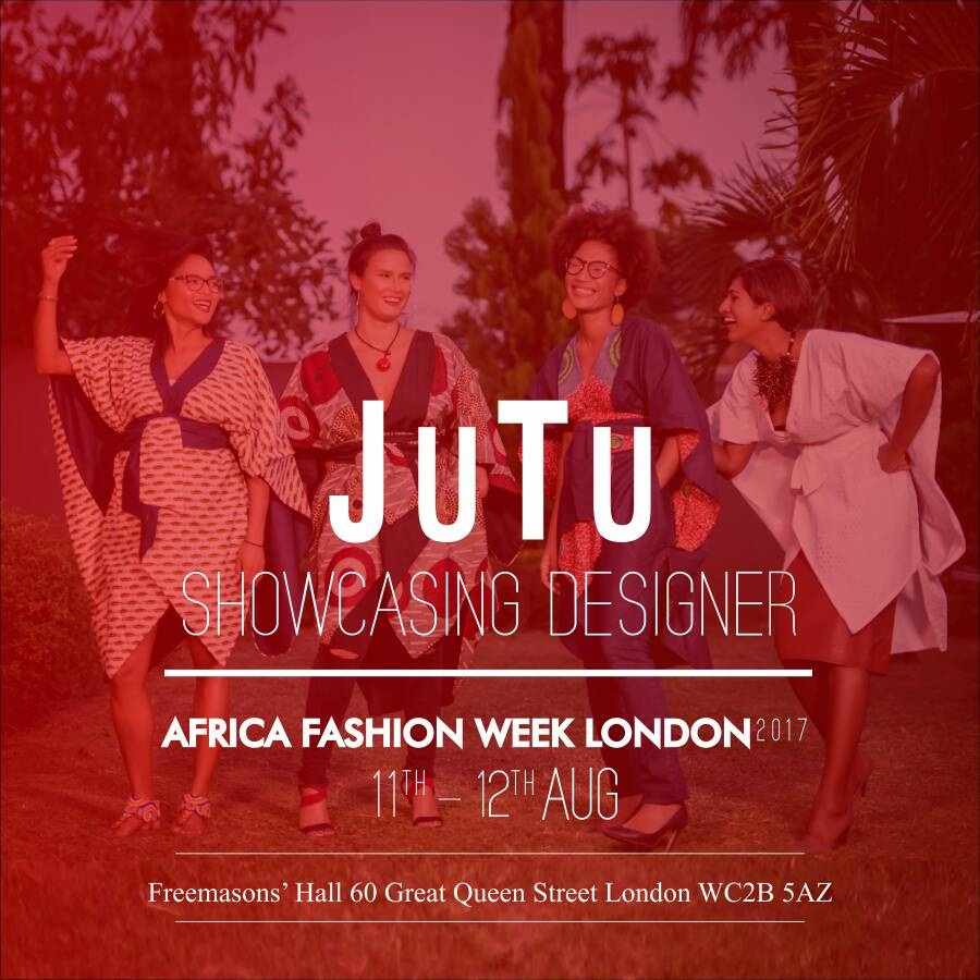 JUTU - JUTU is a Ready-To-Wear clothing brand, symbolizing M.U.L.T.I.C.U.L.T.U.R.A.L.I.S.M by mixing Styles, Fabrics and Models.JUTU means Just Universal Bantu as a tribute to my homeland Gabon and Cameroon.Our clothes are « Made In Africa » for passionate, adventurous and worldwide people.Launched in 2013 by Justine ADANDE, a Self-Taught designer born in France, JUTU combines a contemporary spirit and African roots. Jutu is representing Gabon/Cameroon. The designer is based Gabon.