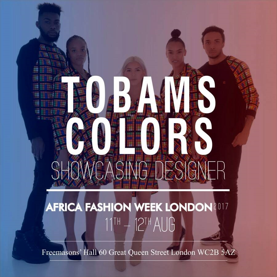 TOBAMS COLORS - Founded by Jite Newton, Tobams Colors has been created to provide worldwide identity within African Ankara wax material. We created a fusion of high end clothing with traditional African prints utilising rich colours to create every day, stylish yet affordable pieces.