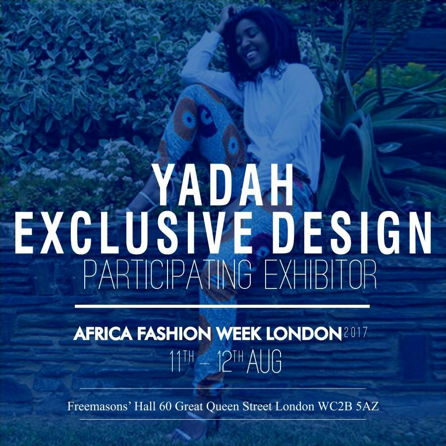 YADAH EXCLUSIVE DESIGNS - Yadah exclusive designs is an exciting fashion brand that designs Afrocentric fashion. It upholds principles and values of quality, Efficient service, good Customer care, Competitive pricing, Long term relationship with our clients. Yadah brand offersexclusive ready to wear clothing and accessories for women