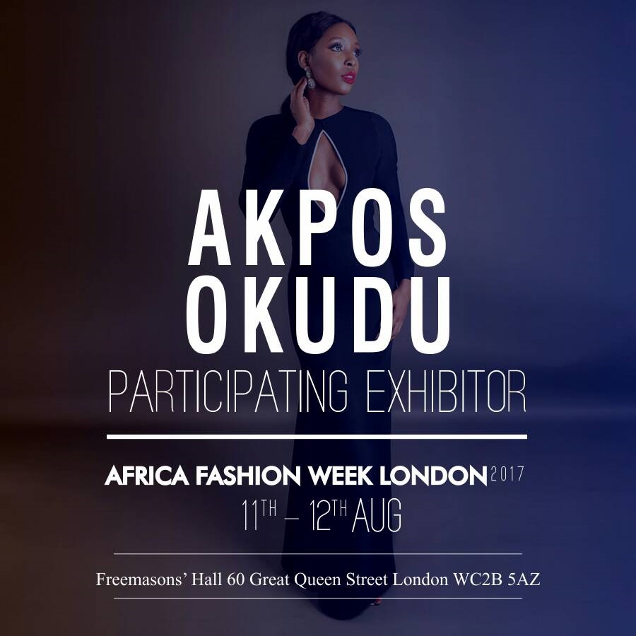AKPOS OKUDU - Akpos Dudu RepresentingNigeria is a brand that is feminine, romantic, playful, and sophisticated. Every Akpos Okudu piece shows a love for lush fabric, intricate details and colour.Each piece unique as it is important that it makes its wearer feel special.