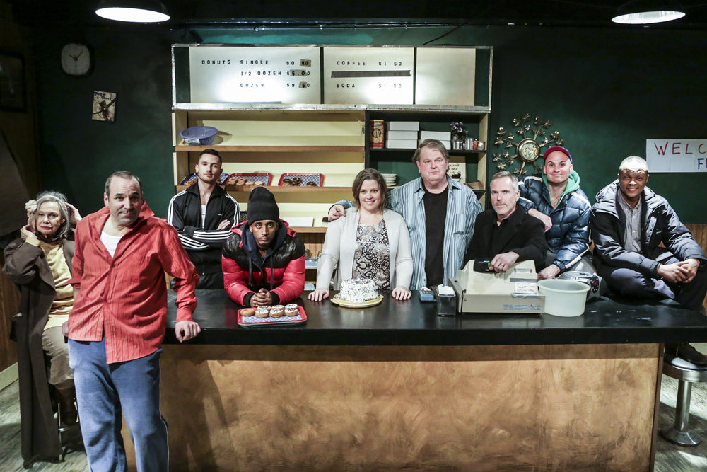 CAST of SUPERIOR DONUTS | Photo by Shaun Benson