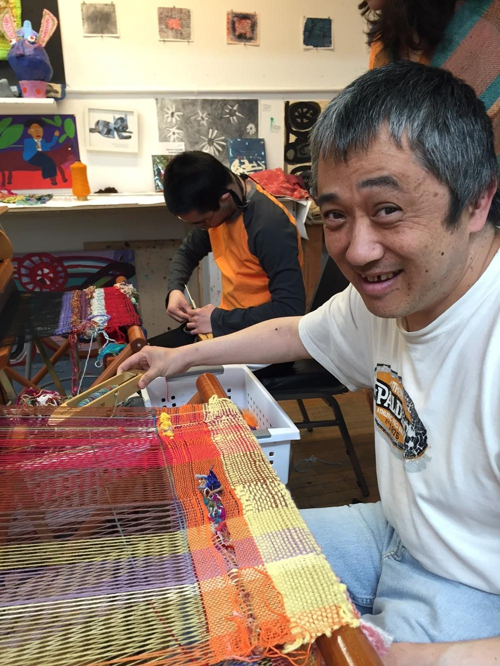 Artist Hiroshi Onodera