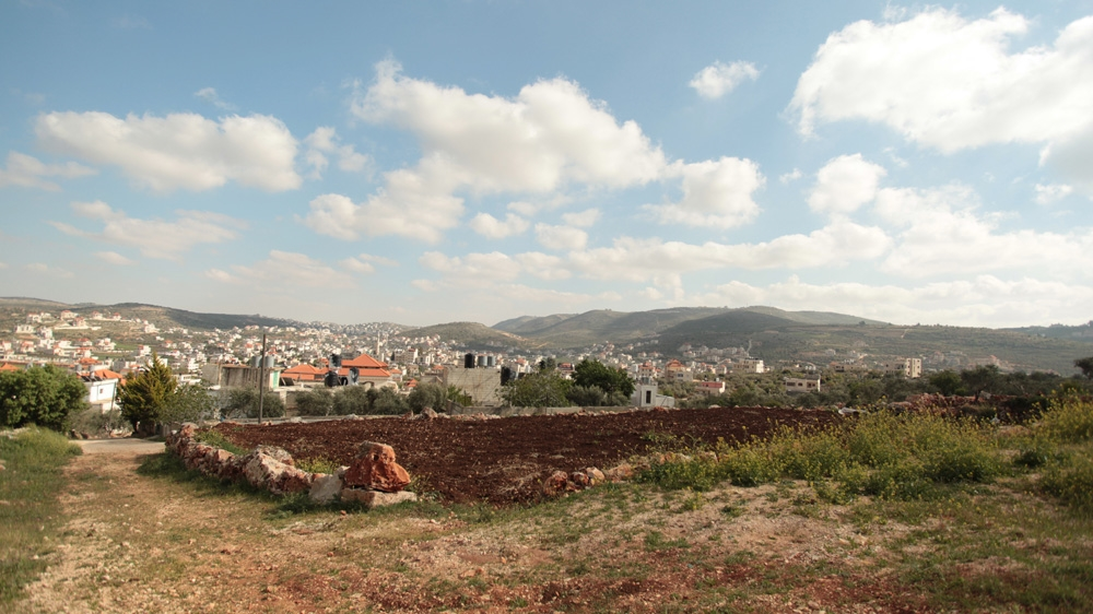 The hills around the Palestinian villages in the Shilo valley are increasingly being topped with Israeli settlements [Leila Molana-Allen/Al Jazeera]