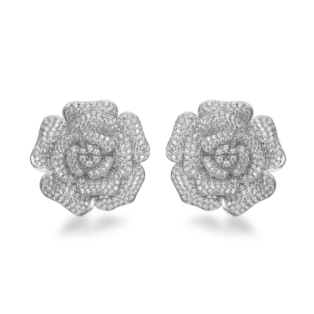 SONNETT CLUSTER EARRINGS