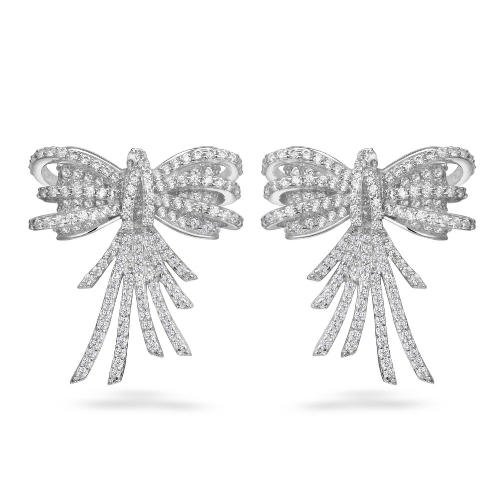 STELLA BOW EARRINGS