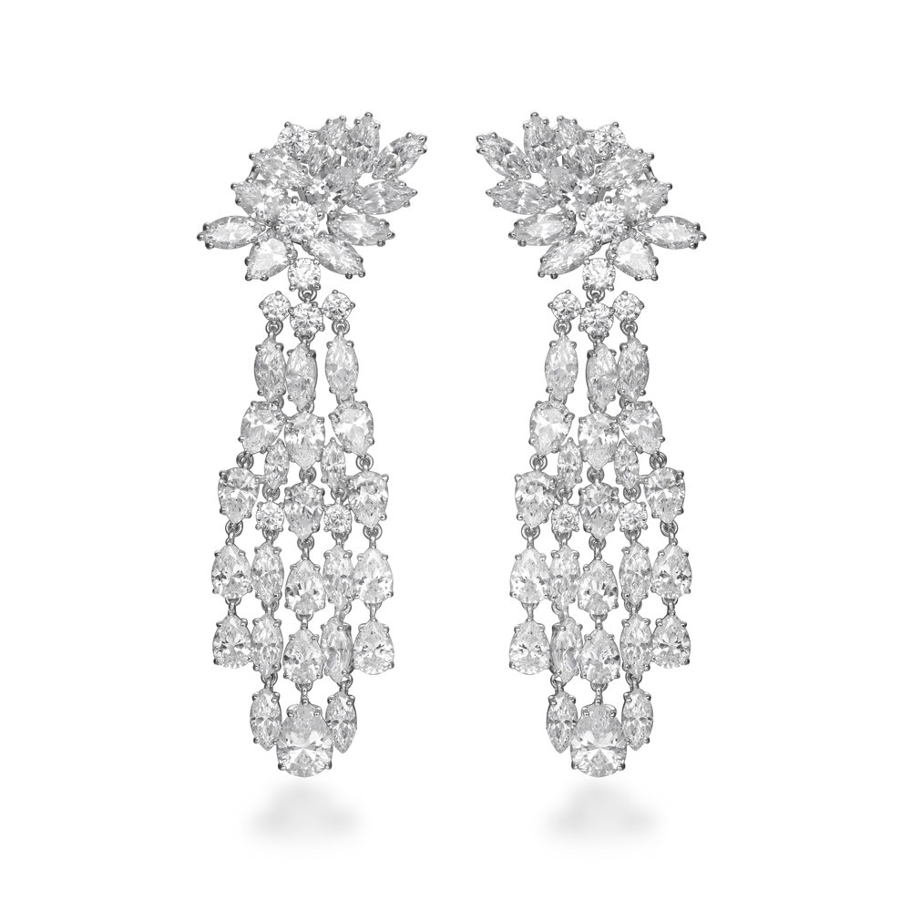 LUNA CHANDELIER EARRINGS