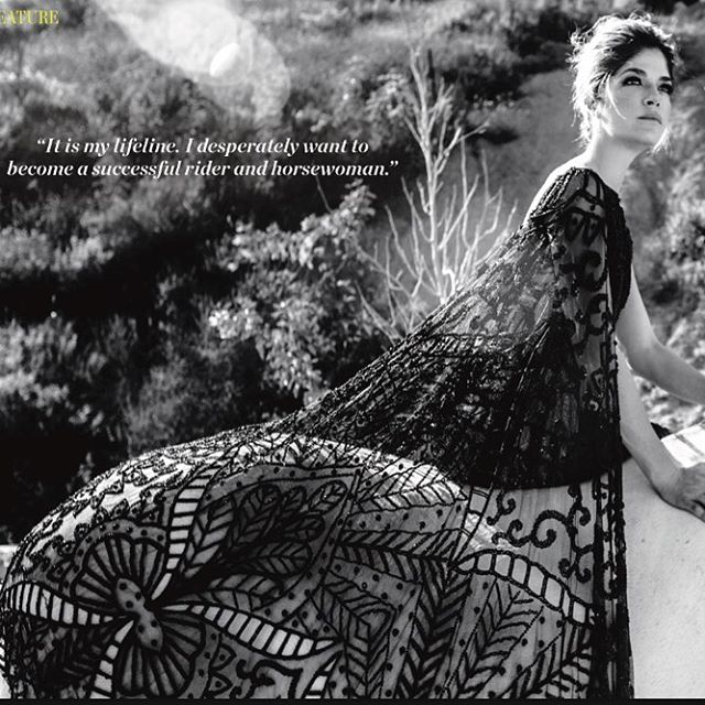 SELMA BLAIR @selmablair Wears #stevenkhalil for @eqluxe Magazine and styled by @anna_schilling