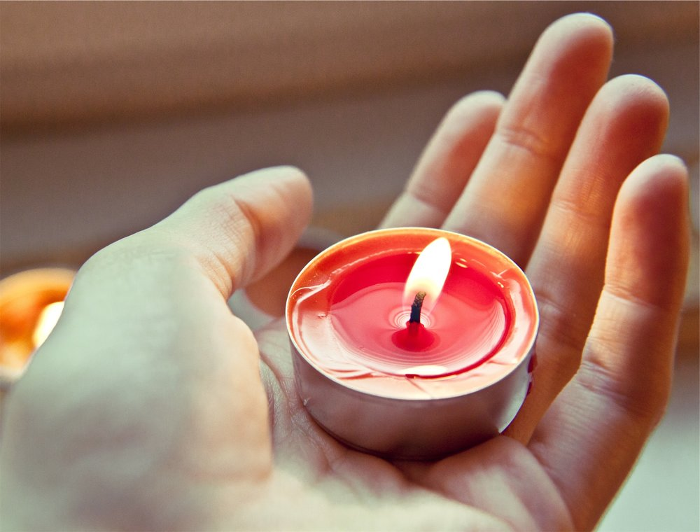 Make sure your candle is lite before you lite someone else's.