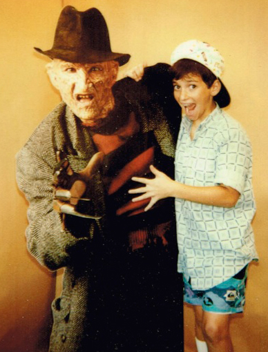 Jon Schnitzer Director / Producer of HAUNTERS The Movie was already a devoted fan of horror by age 9.