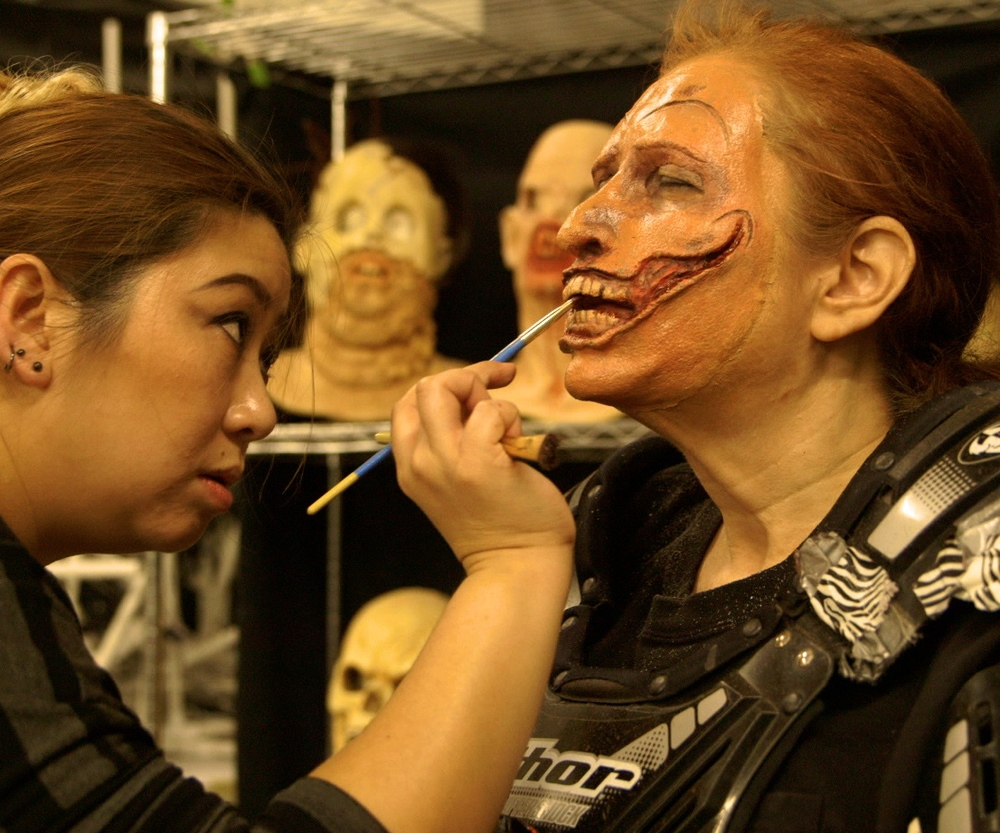 Makeup Artist: Patricia Wang & Legendary Monster: Shar Mayer at Bone Yard Effects