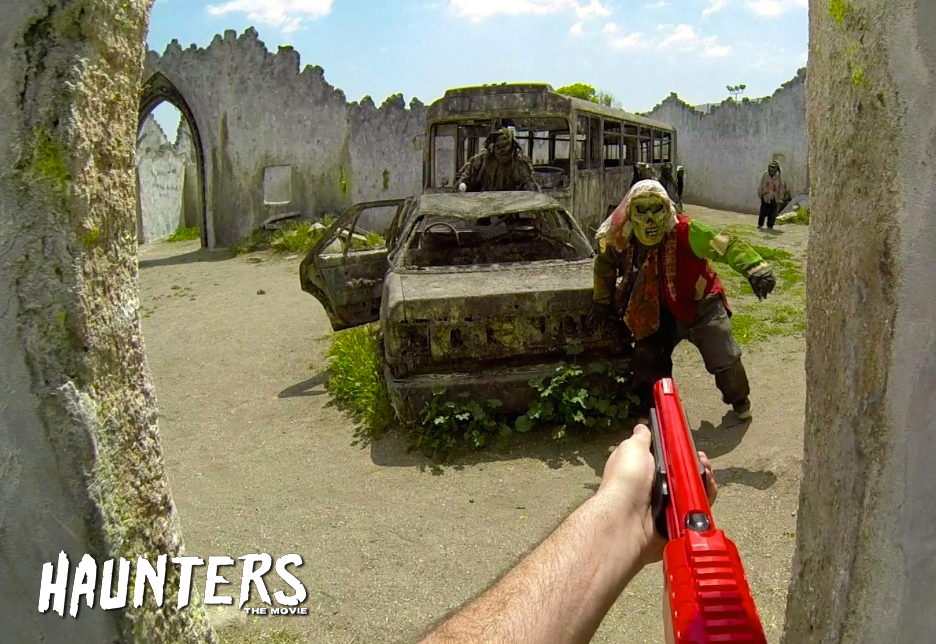 Zombie Paintball @ Haunted Hollywood Sports