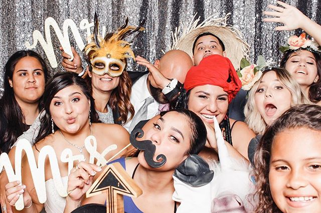 happy FriYAY! Photos from Kayla and Jason's big day in Naples are up on Facebook, tag away! 🤘// #thereveriebooth #wedding #photobooth
