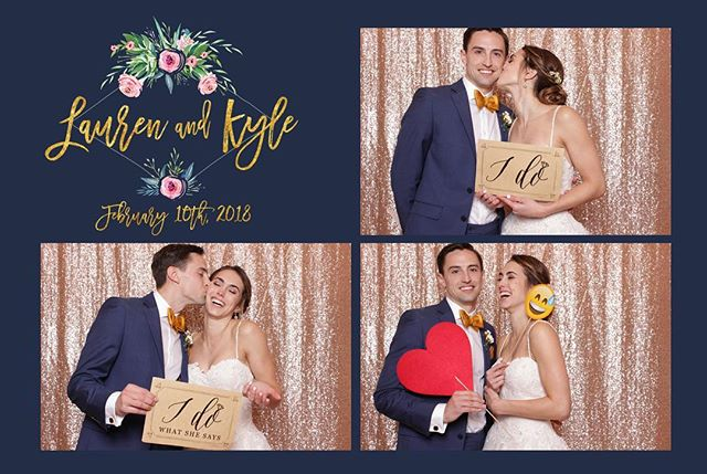 loving this custom template inspired by this sweet couple's invitation! #thereveriebooth #photobooth #floridawedding #floridaphotobooth