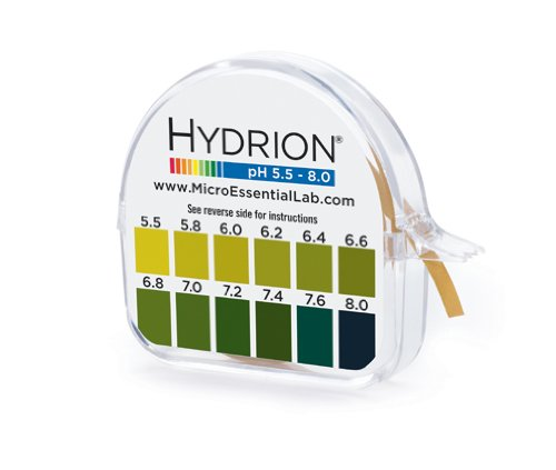 Micro Essential Labs pHydrion Urine and Saliva ph test paper