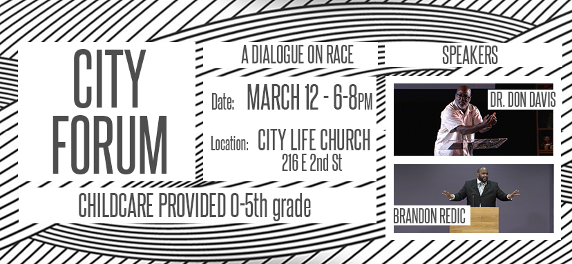 City Forum: A Dialogue On Race