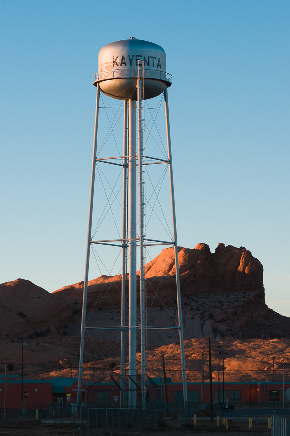 Kayenta Watertower