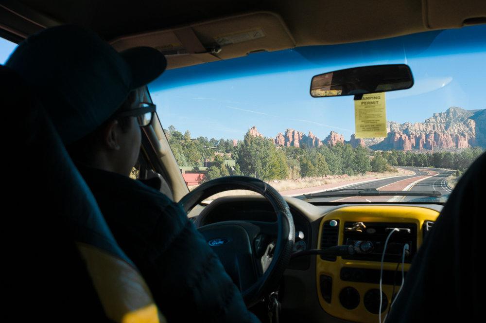 Touring Sedona