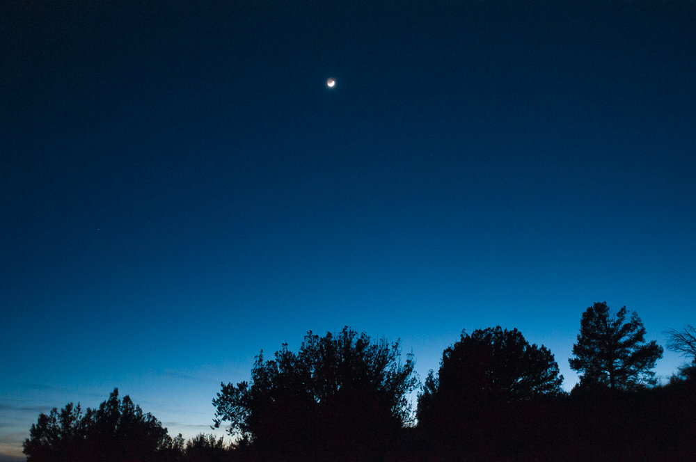 Evening Sky, Sedona