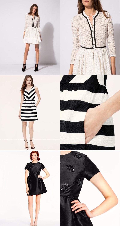 Birthday Dress Contenders - Maje, Loft, and Kate Spade | Sundays and Somedays