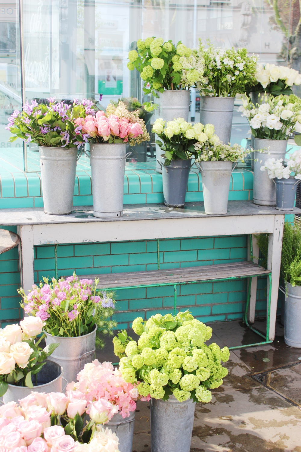 Notting Hill Charm - Wild at Heart Flower Shop | Sundays and Somedays