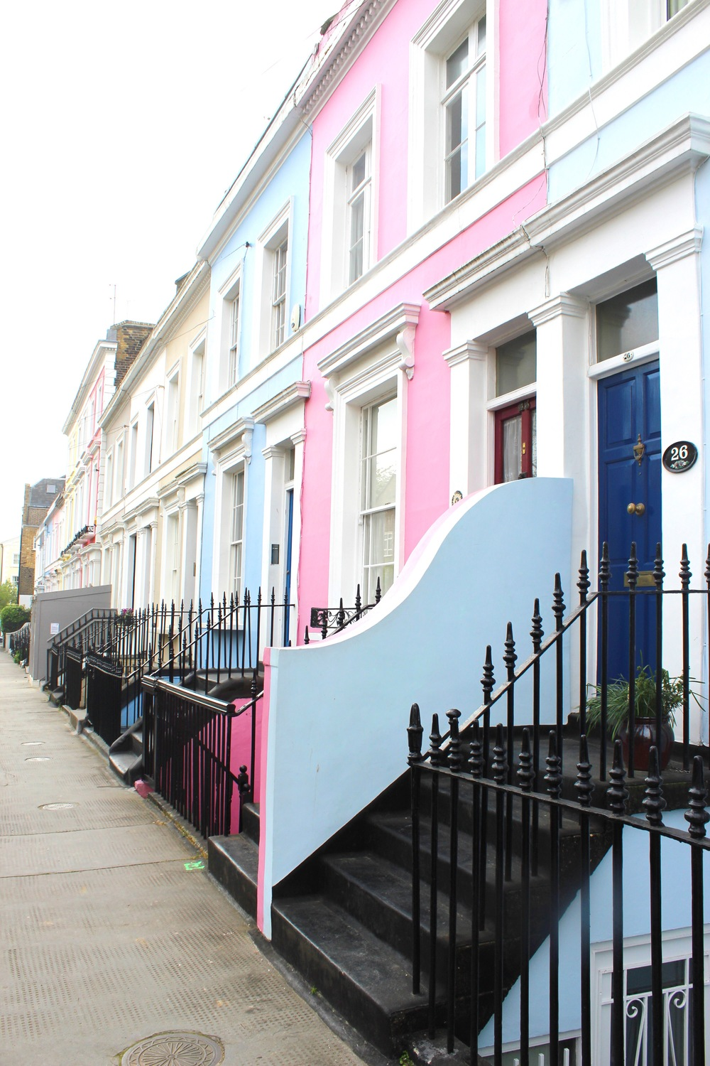 Notting Hill Charm - Pastel Colors | Sundays and Somedays
