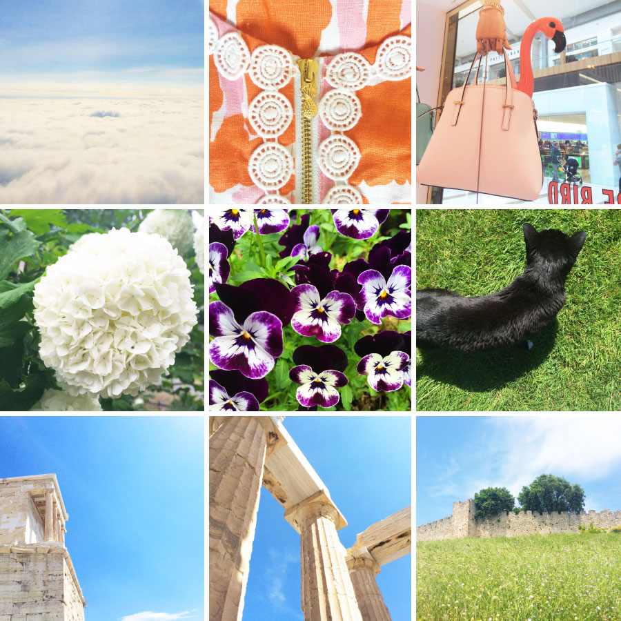 May in Photos - Blue Skies, Flowers, and Greece | Sundays and Somedays