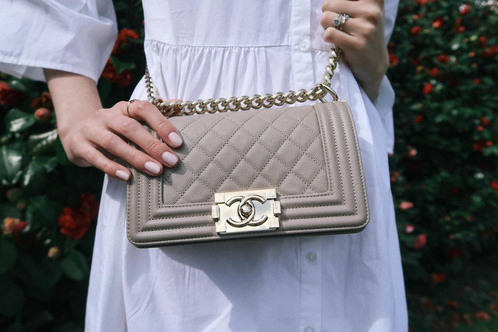 Chanel boy bag | Greenwich Strolls | Sundays and Somedays