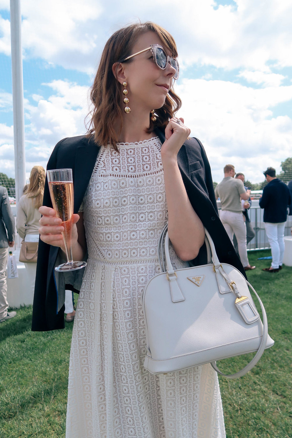 7 Polo Terms to Know and What To Wear to a Polo Match | Baublebar earrings, Boden occasionwear dress | Sundays and Somedays