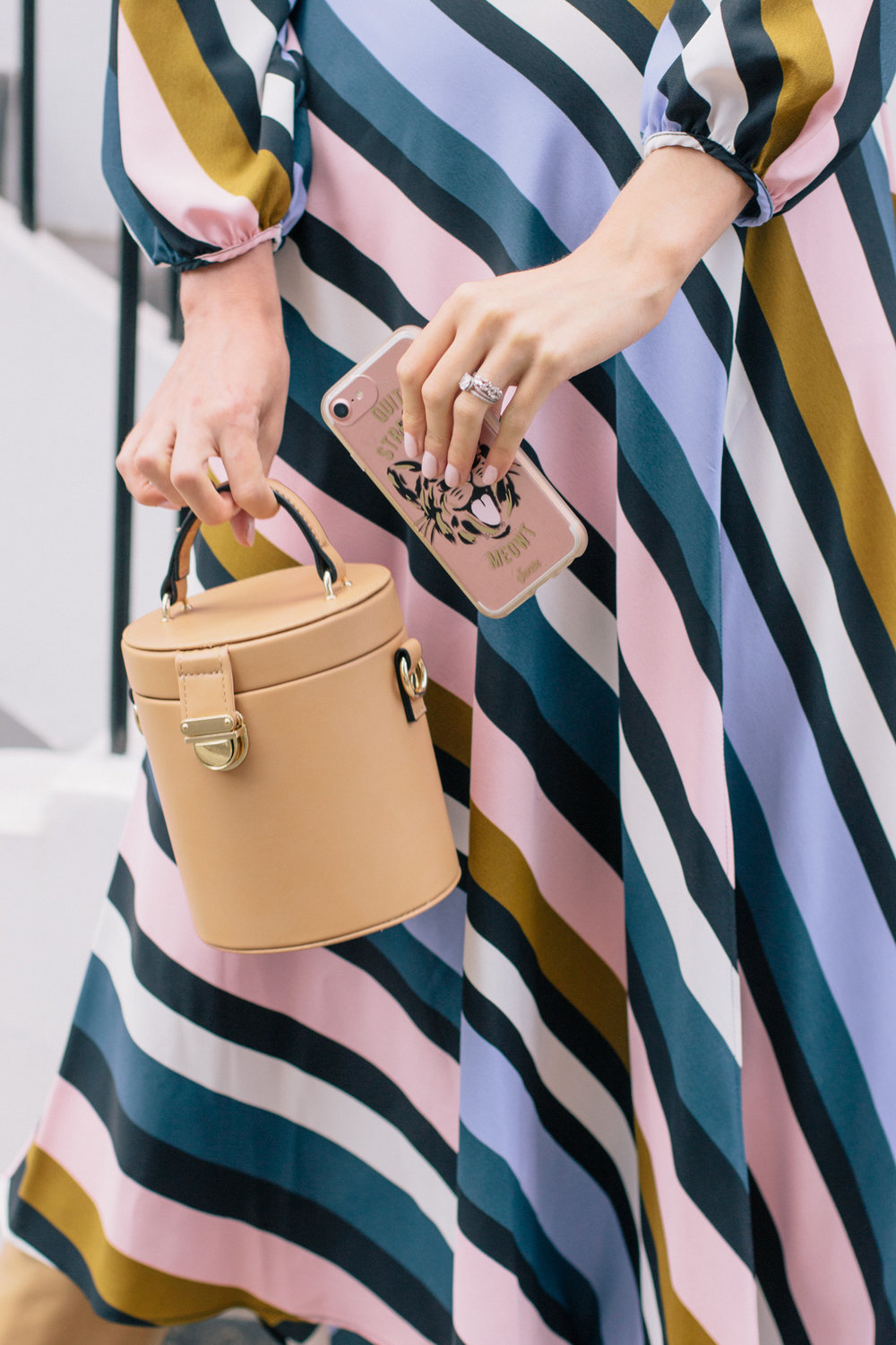 Striped Topshop Dress Pink House Notting Hill Gate-30.jpg