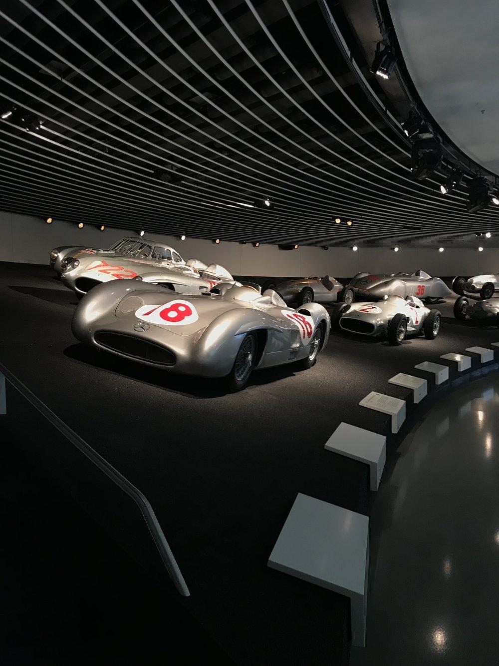 Mercedes Benz Museum Stuttgart Germany