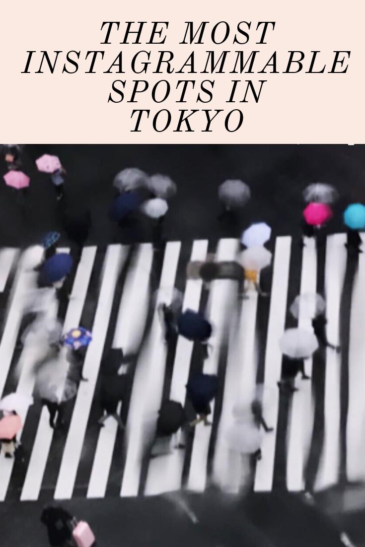 The Most Instagrammable Spots in Tokyo Japan Shibuya Crossing Best Photo Spot