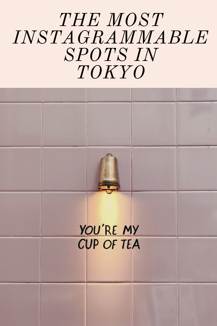 The Most Instagrammable Spots in Tokyo Japan Instagram