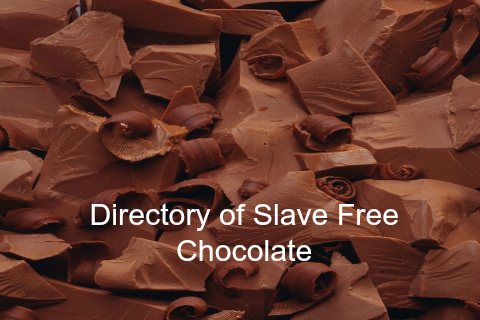 Slave Free Chocolate list