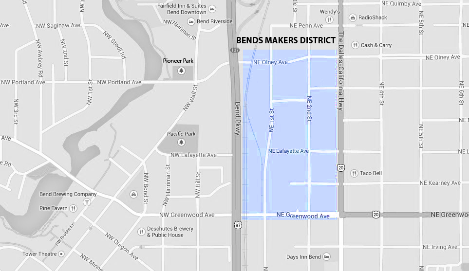 BendsMakersDistrictLocationMap_Contact_Directions