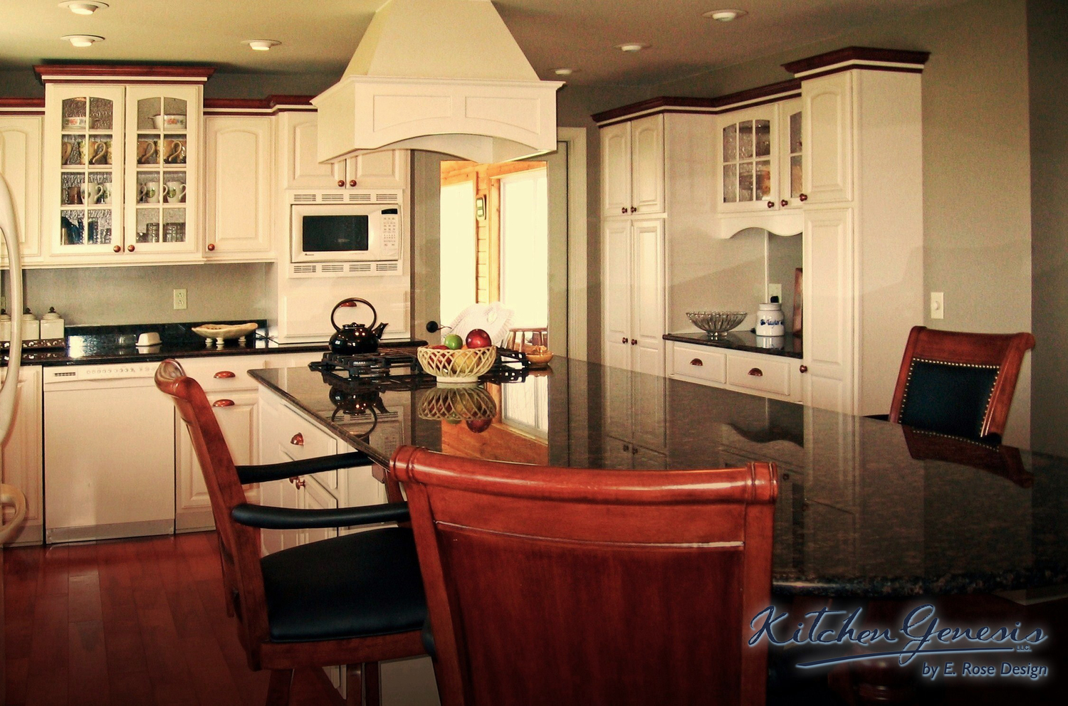 Cozy Country Kitchen Makeover — Kitchen Genesis by E. Rose Design