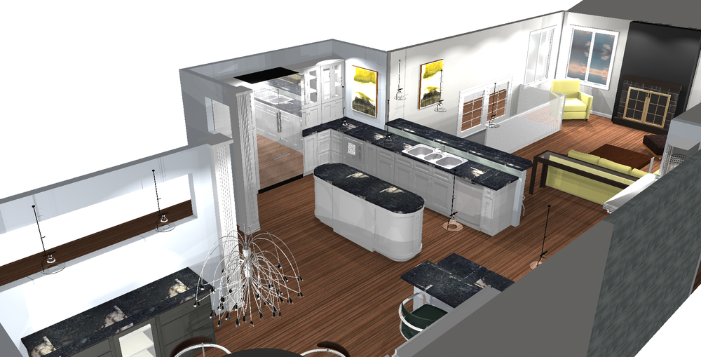 Custom Kitchen Design Concept