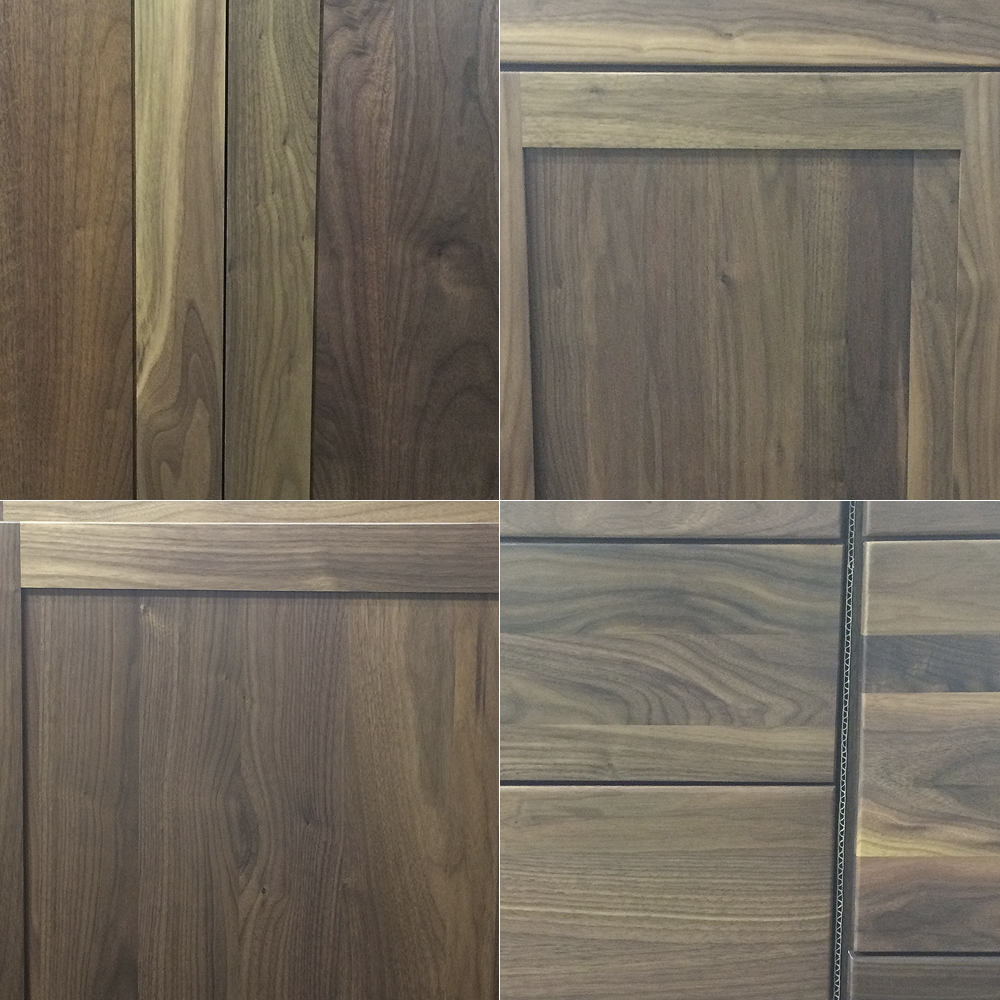 Designers and consumers need to have open communication about the challenges and realities of working with walnut. It's important to get a sample, explore stain options, and make sure you are going to love it for years to come.