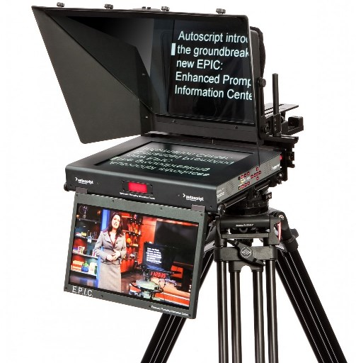 E.P.I.C. 17: THE WORLD'S FIRST FULLY INTEGRATED PROMPTING AND ON-AIR SYSTEM.