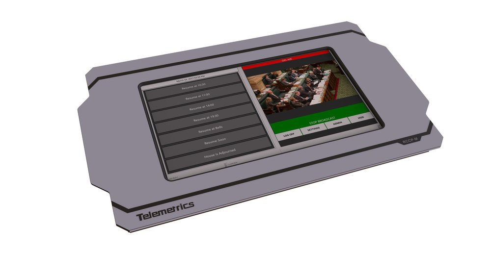 The Telemetrics Clerk control panel is designed for non-technical users and provides the necessary tools to enable or disable the various output signals when necessary.
