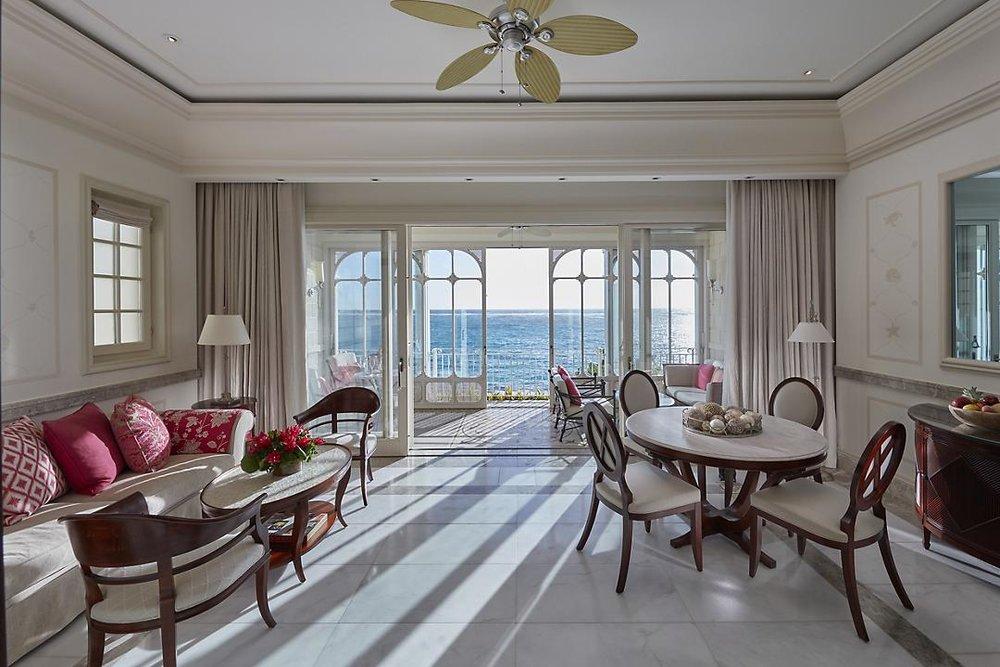 Ocean front suite view